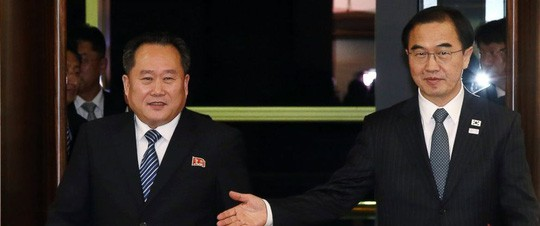 Công chúa Nhà Trắng và cựu trùm trinh sát Triều Tiên chạm mặt? - Ảnh 1.