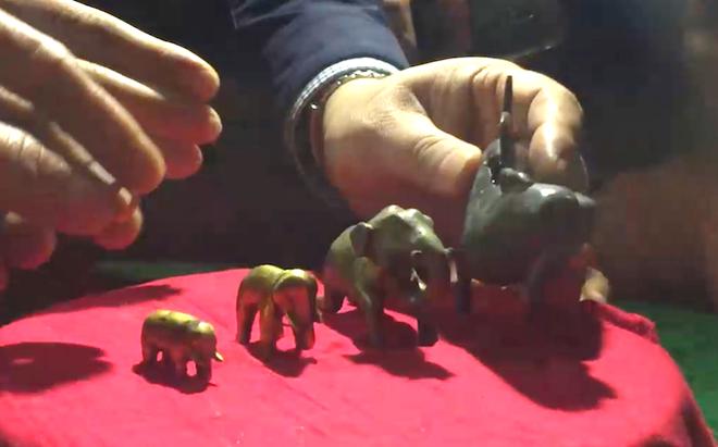 Ngắm bảo vật voi bằng vàng của vua Hàm Nghi ban tặng - Ảnh 4.