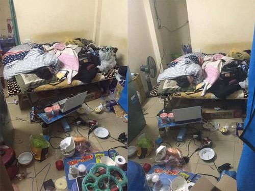 Những căn phòng lộn xộn, ở bẩn đến nỗi khó tìm một chỗ đặt chân tử tế! - ảnh 5