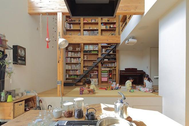 Ngôi nhà đẹp hoàn hảo dành cho 5 người khiến ai cũng phải ngưỡng mộ ở Nhật - Ảnh 1.