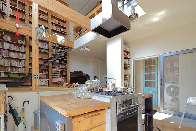 Ngôi nhà đẹp hoàn hảo dành cho 5 người khiến ai cũng phải ngưỡng mộ ở Nhật - Ảnh 2.