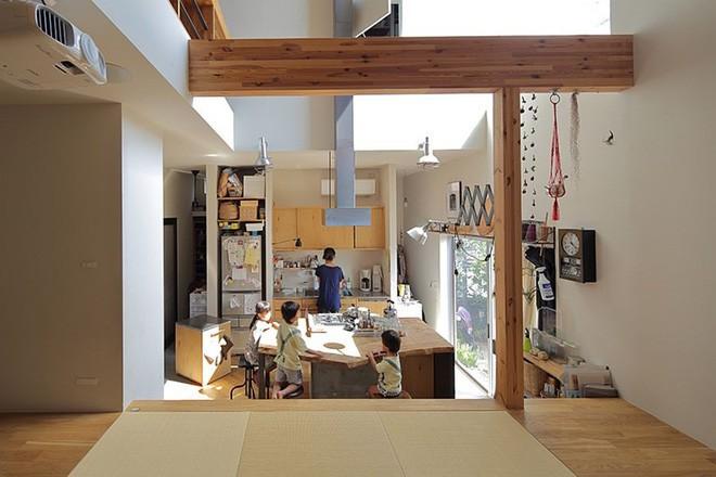 Ngôi nhà đẹp hoàn hảo dành cho 5 người khiến ai cũng phải ngưỡng mộ ở Nhật - Ảnh 3.