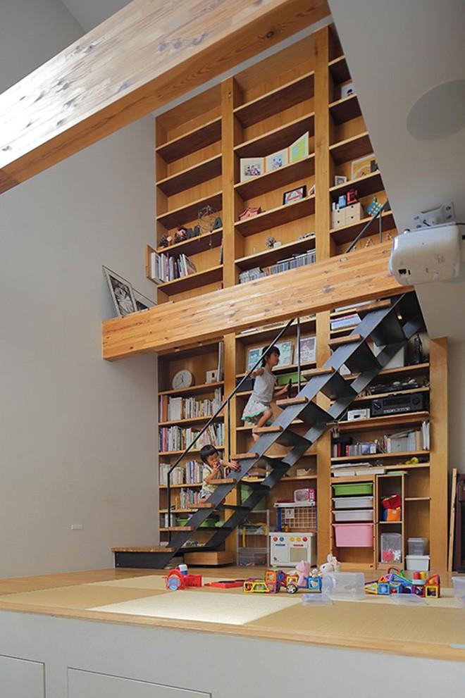 Ngôi nhà đẹp hoàn hảo dành cho 5 người khiến ai cũng phải ngưỡng mộ ở Nhật - Ảnh 4.