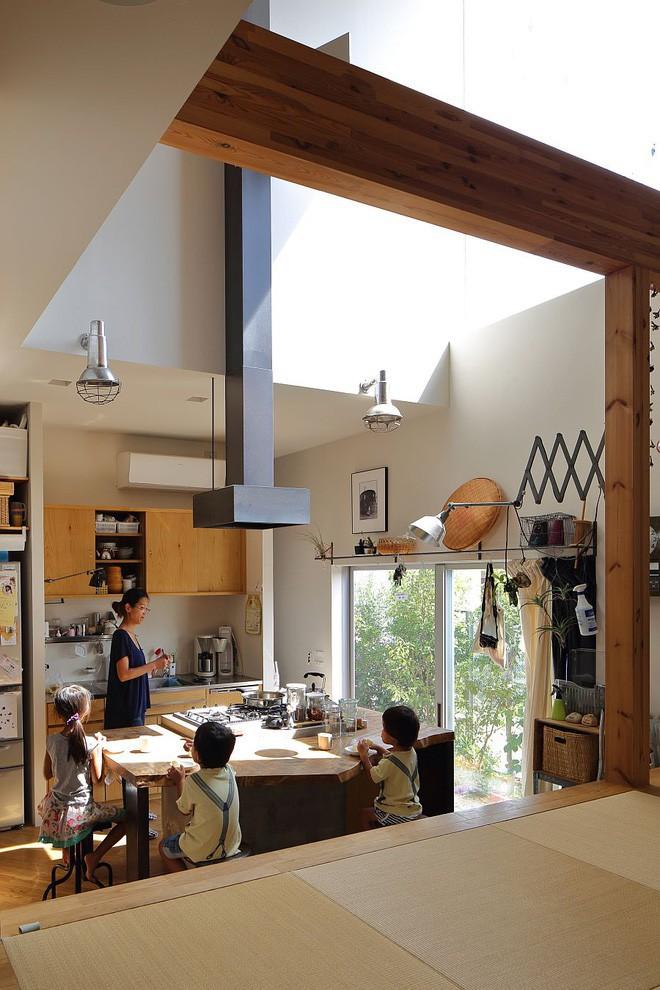 Ngôi nhà đẹp hoàn hảo dành cho 5 người khiến ai cũng phải ngưỡng mộ ở Nhật - Ảnh 5.