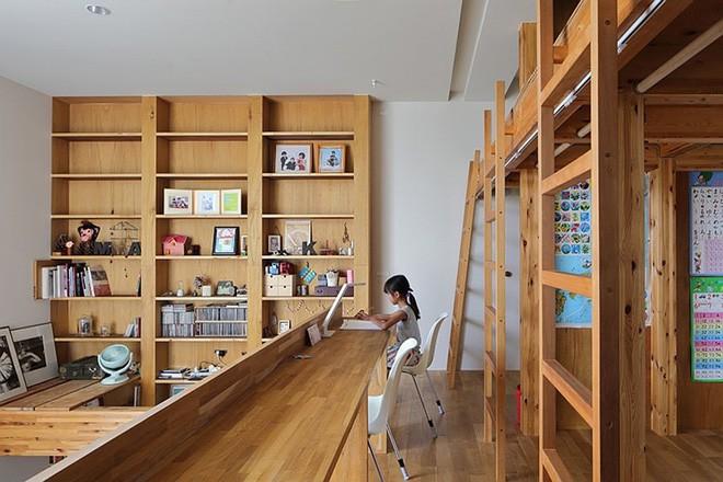 Ngôi nhà đẹp hoàn hảo dành cho 5 người khiến ai cũng phải ngưỡng mộ ở Nhật - Ảnh 8.