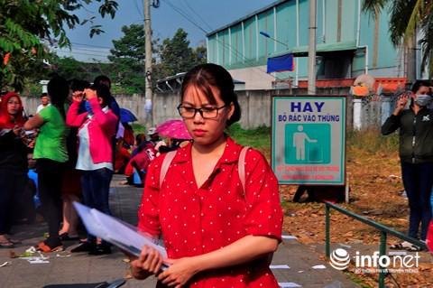 Bị nợ lương trước Tết, gần 2000 công nhân tiếp tục ngồi la liệt trước công ty - Ảnh 5.