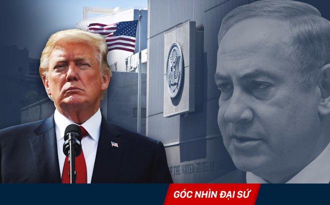 Vì sao chính quyền ông Trump vội vã tiến hành chuyển đại sứ quán Mỹ về Jerusalem?