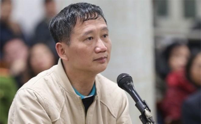Bị cáo Trịnh Xuân Thanh nói lời sau cùng: