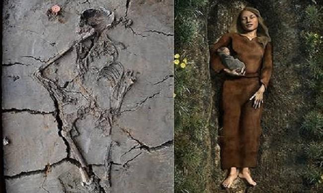 Phát hiện ngôi mộ trẻ em ngàn năm tuổi, các nhà khoa học sững sờ khi thấy hình ảnh này - Ảnh 2.