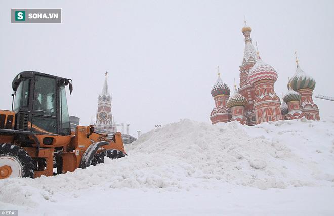 Tuyết rơi phá kỷ lục 100 năm ở Nga: Đã tìm ra nguyên nhân