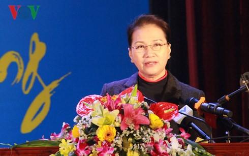 Chủ tịch Quốc hội dự lễ phát động Tết trồng cây tại Hải Dương - Ảnh 1.