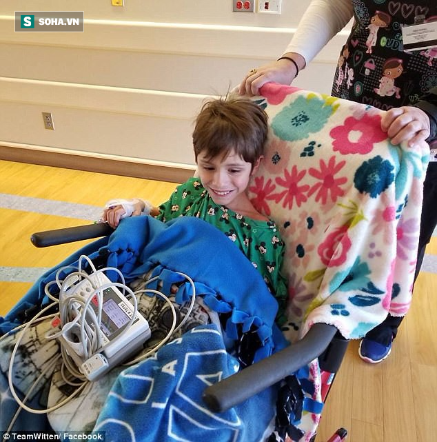 Biến chứng nhiễm trùng não do virus cúm mùa - một cậu bé 8 tuổi bị di chứng nghiêm trọng - Ảnh 2.