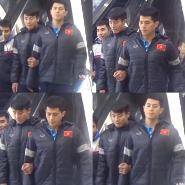 Những khoảnh khắc ngoài sân cỏ giữa các cầu thủ U23 Việt Nam khiến CĐV ghép đôi nhiệt tình - Ảnh 5.
