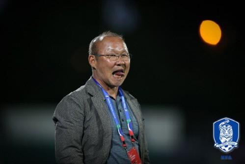 HLV Park Hang-seo tuyên bố sẽ hạ gục Qatar, thẳng tiến vào chung kết - Ảnh 1.