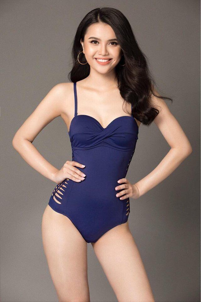 Vẻ nóng bỏng của mỹ nhân có thể sẽ thay thế ngôi vị Hoa hậu Đại dương của Lê Âu Ngân Anh - Ảnh 4.