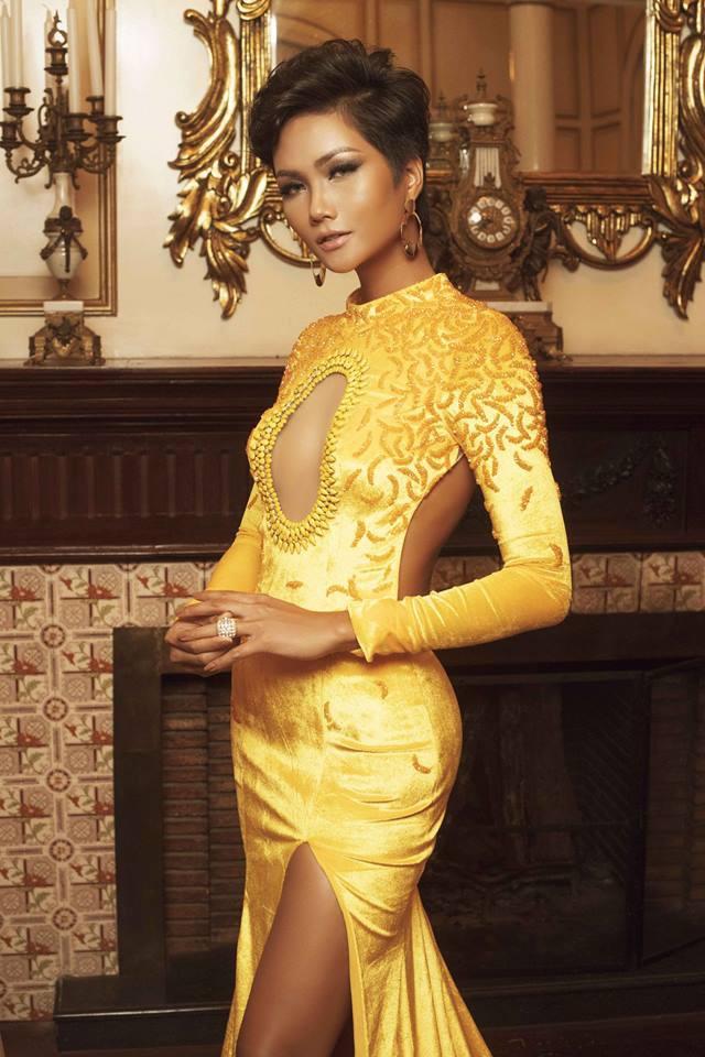 H'Hen Niê đăng quang Hoa hậu, xuất hiện nhiều bình luận tiêu cực, chê bai giống đàn ông 1