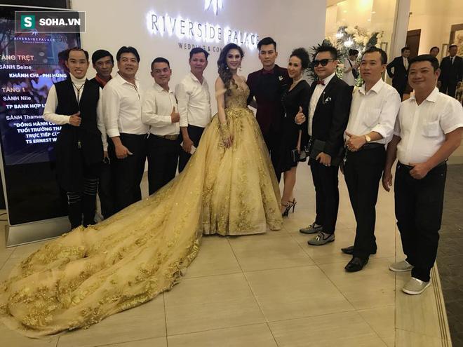 [CẬP NHẬT] Sao Việt bắt đầu xuất hiện tại đám cưới Lâm Khánh Chi với chồng kém 8 tuổi - Ảnh 11.