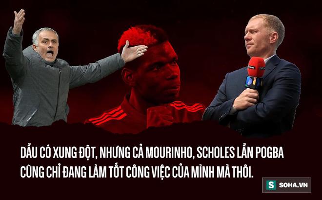 Paul Scholes chỉ trích Pogba là đúng, nhưng Mourinho phản ứng chẳng hề sai  - Ảnh 1.
