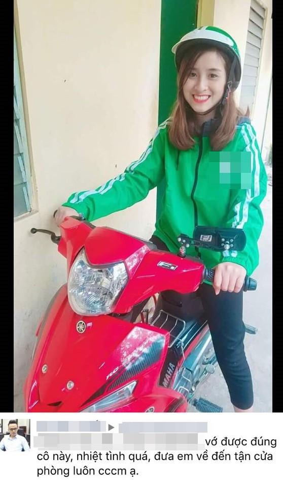 Thực hư bức ảnh cô gái chạy xe ôm xinh đẹp khiến dân mạng nhiệt tình xin thông tin - ảnh 1