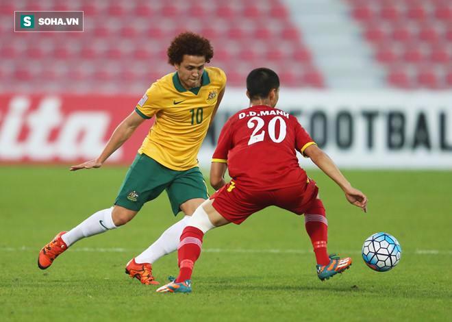 Địa chấn! U23 Việt Nam dũng cảm quật ngã Australia bằng nhát kiếm của Quang Hải - Ảnh 3.