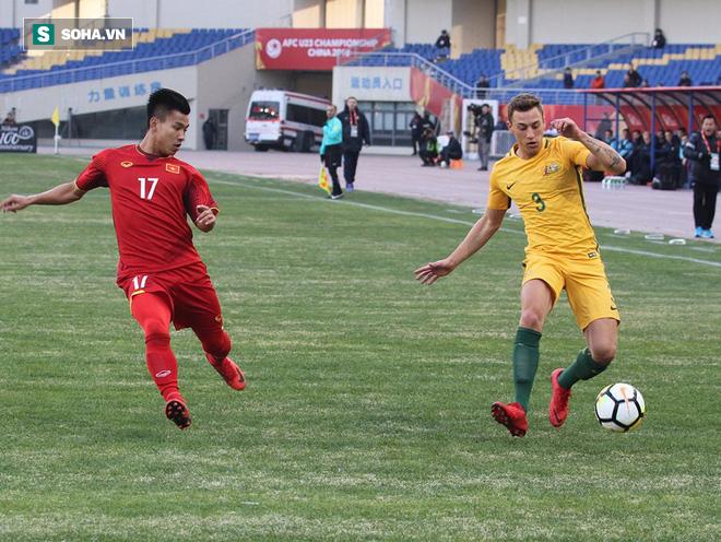 Địa chấn! U23 Việt Nam dũng cảm quật ngã Australia bằng nhát kiếm của Quang Hải - Ảnh 2.