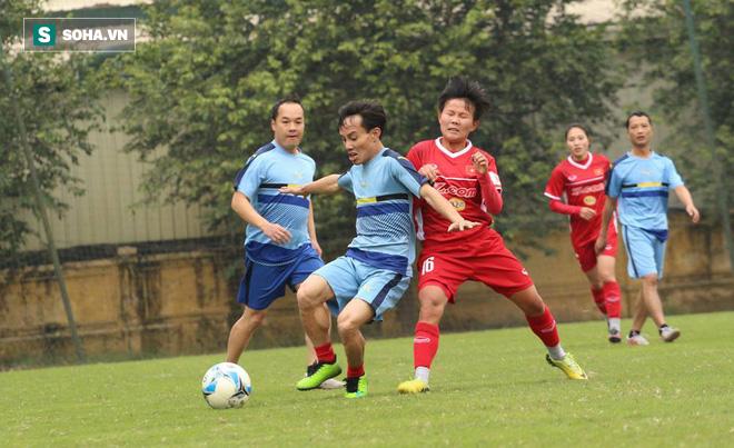 Đội tuyển nữ Việt Nam thắng đậm trước ngày lên đường - Ảnh 1.