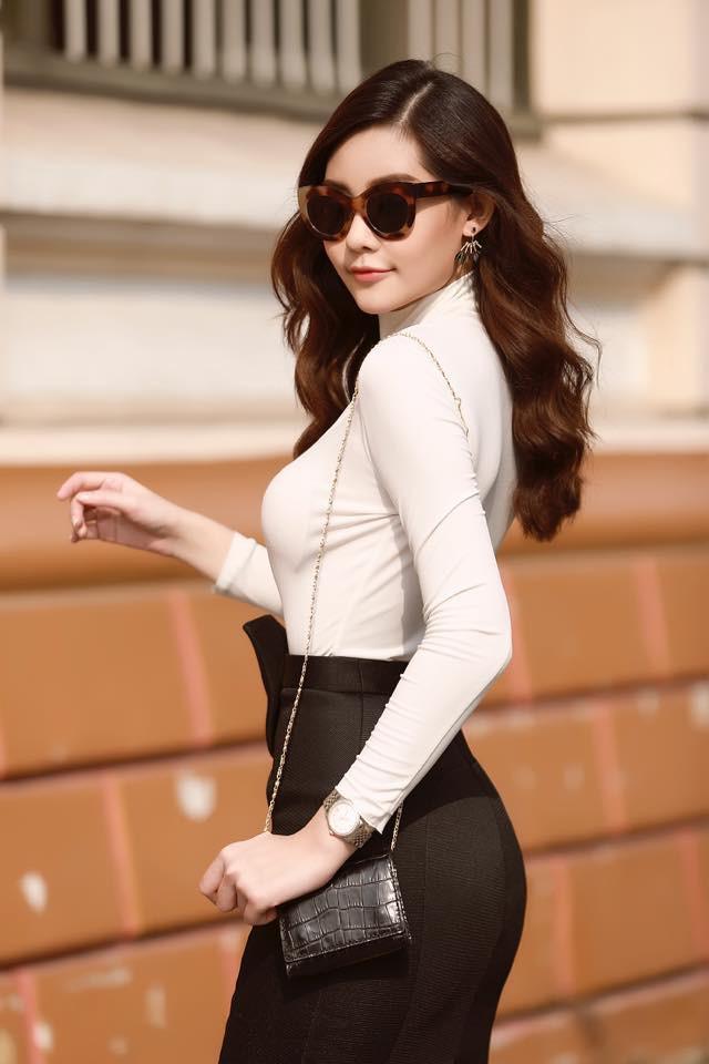 Lê Âu Ngân Anh: Sau những lời chê bai, miệt thị là hoa hậu Việt duy nhất catwalk tại Oscar - Ảnh 2.