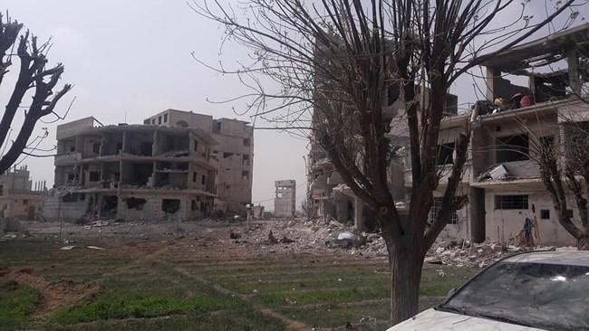 """""""Hổ Syria"""" xung trận chiếm thị trấn chiến lược ở Đông Ghouta sau hai ngày giao chiến sinh tử - Ảnh 2."""
