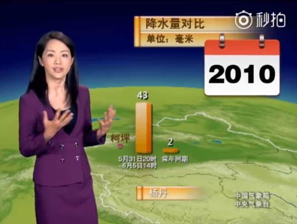 Nữ MC 45 tuổi Trung Quốc trở thành hiện tượng vì quá trẻ đẹp - Ảnh 5.