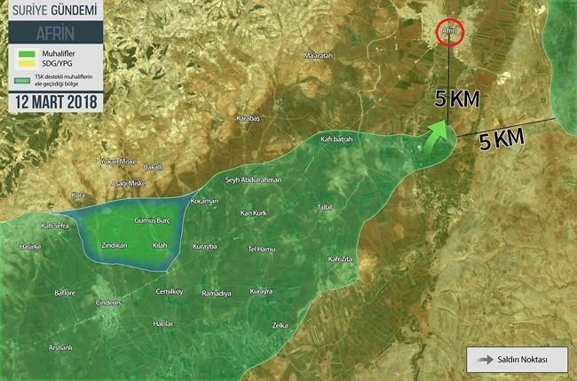 Quân Thổ đoạt hàng loạt cứ địa một ngày, người Kurd bên bờ bại vong - ảnh 1
