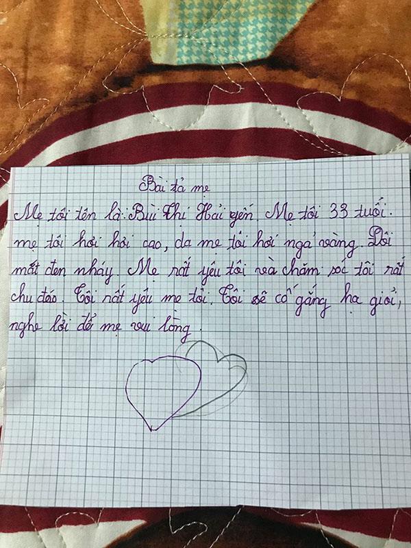 Dân mạng phì cười với bài văn bán đứng bố của một bé gái Hà Nội: Bố rất lười, ham chơi, hay khiến mẹ tôi buồn - Ảnh 1.