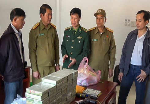 Phá chuyên án 028LV thu 60 bánh heroin, 40.000 viên ma túy tổng hợp - Ảnh 1.