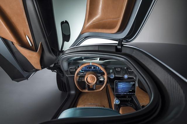 Xe nhanh nhất thế giới Rimac C_Two: 2.000 mã lực, 0-100km/h trong 1,85 giây - Ảnh 3.