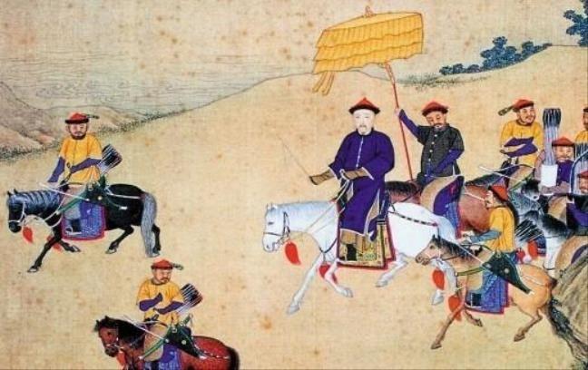 Gia Khánh ra lệnh kết thúc cuộc đi săn sau nhiều ngày mà không thu được chiến lợi phẩm nổi bật.
