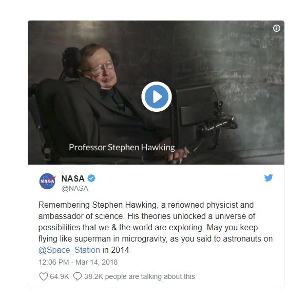 Mong giáo sư Stephen Hawking tiếp tục bay như siêu nhân... - Ảnh 1.