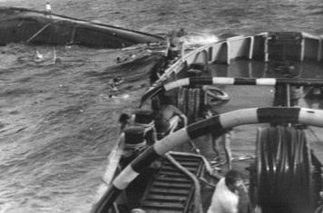 Hải quân Liên Xô cứu hộ tàu HQ-614  ở Trường Sa: Bất trắc đã xảy ra - Ảnh 3.