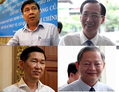 Thay đổi, điều chỉnh lĩnh vực phụ trách của 4 lãnh đạo UBND TP.HCM - Ảnh 1.