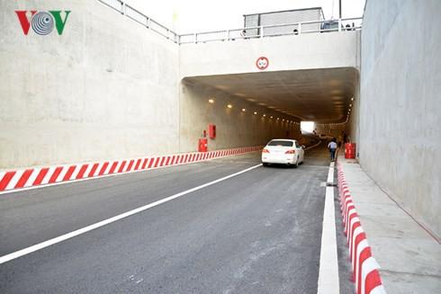 TP HCM chính thức thông xe nhánh N1 hầm chui An Sương - Ảnh 1.