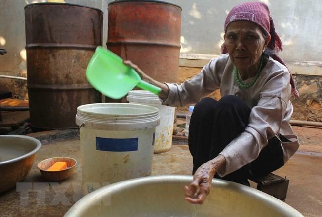 Đắk Lắk: Nước giếng của nhà dân bỗng dưng nóng lên bất thường - Ảnh 1.