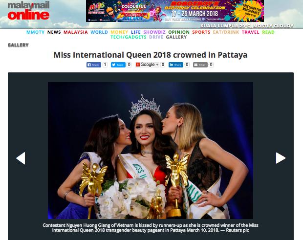 Sau loạt báo Quốc tế, Tân Hoa hậu Hương Giang tiếp tục xuất hiện nổi bật trên báo Đài Loan - Ảnh 7.