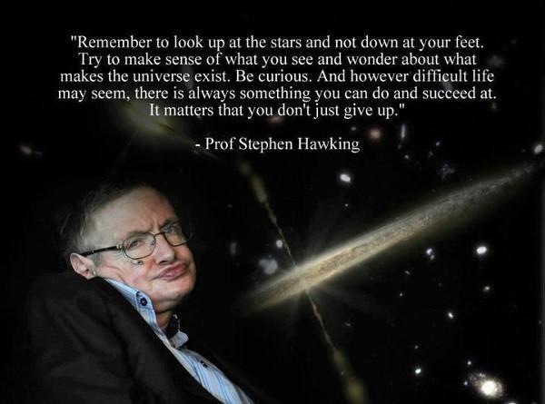 Stephen Hawking, hình tượng vật lý vừa rời bỏ sân khấu cuộc đời (phần 1) - Ảnh 3.