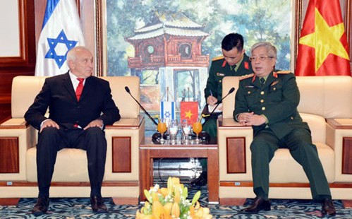 Việt Nam là thị trường xuất khẩu vũ khí lớn thứ 2 thế giới của Israel năm 2017