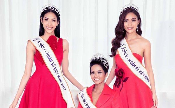 Cuộc đua gợi cảm của Hoàng Thùy, Mâu Thủy sau Hoa hậu Hoàn vũ Việt Nam - Ảnh 3.
