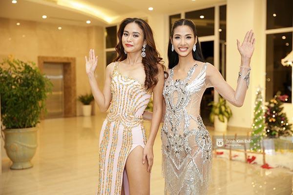 Cuộc đua gợi cảm của Hoàng Thùy, Mâu Thủy sau Hoa hậu Hoàn vũ Việt Nam - Ảnh 2.