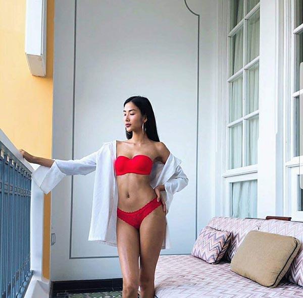 Cuộc đua gợi cảm của Hoàng Thùy, Mâu Thủy sau Hoa hậu Hoàn vũ Việt Nam - Ảnh 7.