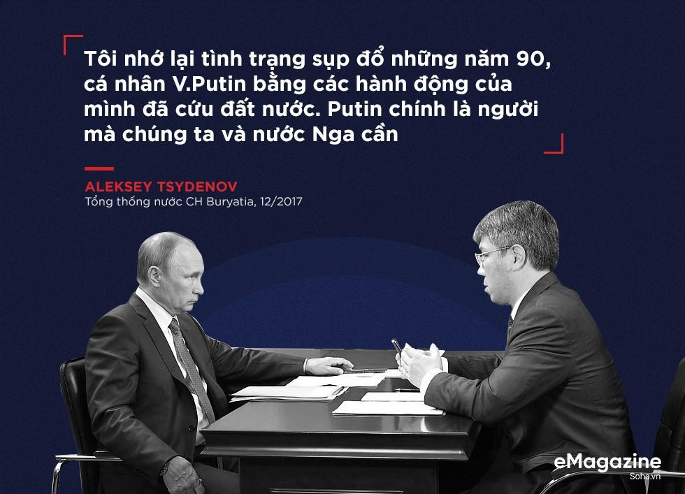 Tổng thống Putin: 2 thập kỷ định hình nước Nga và 6 năm đầy thách thức phía trước - Ảnh 4.