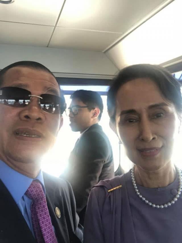 Chùm ảnh: Tinh thần selfie cao độ của Thủ tướng Campuchia cùng các nguyên thủ ASEAN - Ảnh 4.