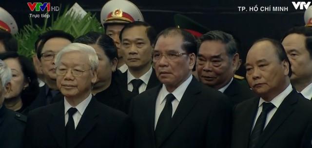 Hình ảnh tại lễ tang thủ tướng Phan Văn Khải.