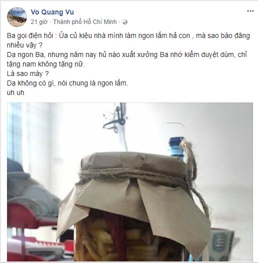 Anh trai Trường Giang mượn lời của bố, đá xoáy Nam Em? - Ảnh 2.