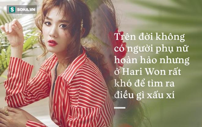 Hari Won là phụ nữ loại 1, rất hiếm trong showbiz Việt! - Ảnh 4.